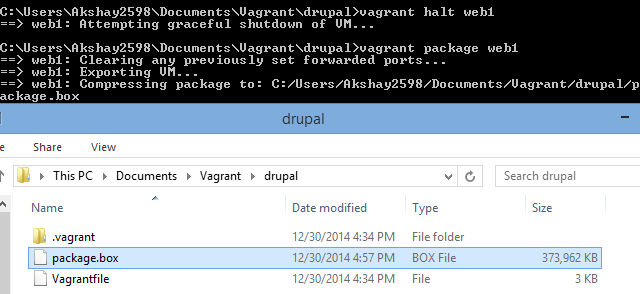 Load Balancing Vagrant Package Web1